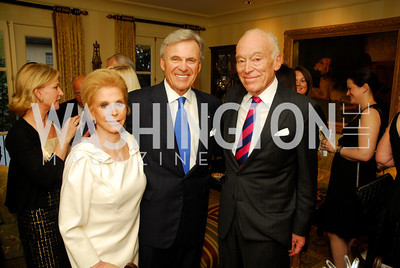 Wilma Bernstein, Stuart Bernstein. Leonard Lauder, A Dinner for Carolina Herrera, May 2, 2012, Kyle Samperton