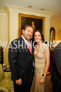Warren Diamond, Faith Diamond, A Dinner for Carolina Herrera, May 2, 2012, Kyle Samperton