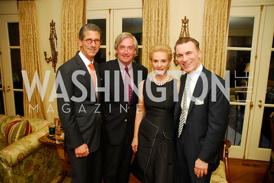 Mark Lefkowitz, Robert Higdon, Carolina Herrera, Joseph Buitano, A Dinner for Carolina Herrera, May 2, 2012, Kyle Samperton