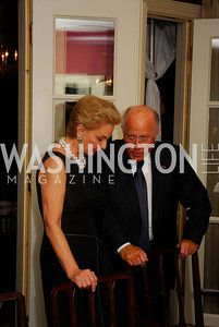 Carolina Herrera, Arnaud de Borchgrave, A Dinner for Carolina Herrera, May 2, 2012, Kyle Samperton