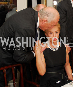 Leonard Lauder, Carolina Herrera, A Dinner for Carolina Herrera, May 2, 2012, Kyle Samperton