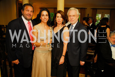 Warner Diamond, Faith Diamond, Lynn Blitzer, Wolf Blitzer, A Dinner for Carolina Herrera, May 2, 2012, Kyle Samperton