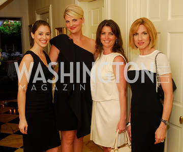 Kate Polidori, Alison Morrison, Kerri Larkin, Katie Jaegers, A Dinner for Carolina Herrera, May 2, 2012, Kyle Samperton