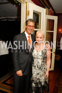 Mark Lefkowitz,  Elise Lefkowitz, A Dinner for Carolina Herrera, May 2, 2012, Kyle Samperton