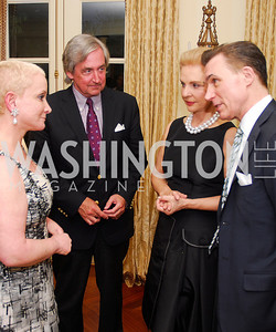 Elise Lefkowitz, Robert Higdon, Carolina Herrera, Joseph Buitano, A Dinner for Carolina Herrera, May 2, 2012, Kyle Samperton