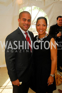 "Brett Greene,Tiffini Greene,June 20,2012,""A Night of Broadway Stars"" Honoring Ted Leonsis Benefitting Covenant House,Kyle Samperton"