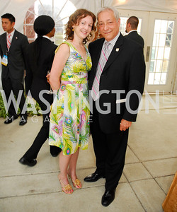 "Elizabeth Scott,Paul Cohn,June 20,2012,""A Night of Broadway Stars"" Honoring Ted Leonsis Benefitting Covenant House,Kyle Samperton"