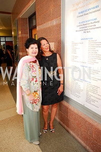 "Judith Terra,.Linda Greene,June 20,2012,""A Night of Broadway Stars"" Honoring Ted Leonsis Benefitting Covenant House,Kyle Samperton"