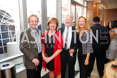 "Sanford Markley,Janet Gross ,Kevin James,Lena Markley,June 20,2012,""A Night of Broadway Stars"" Honoring Ted Leonsis Benefitting Covenant House,Kyle Samperton"