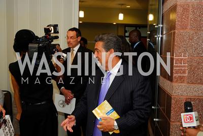 "Mayor Vincent Gray, Ted Leonsis,,June 20,2012,""A Night of Broadway Stars"" Honoring Ted Leonsis Benefitting Covenant House,Kyle Samperton"