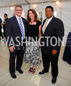 "Daniel Brannen,Marilyn Brannen,Edmund Fleet,June 20,2012,""A Night of Broadway Stars"" Honoring Ted Leonsis Benefitting Covenant House,Kyle Samperton"