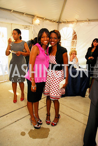 "Kanika Cooper,Keyona Travis,June 20,2012,""A Night of Broadway Stars"" Honoring Ted Leonsis Benefitting Covenant House,Kyle Samperton"