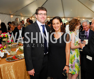 "Chris Taylor,Alessandra Carozza,June 20,2012,""A Night of Broadway Stars"" Honoring Ted Leonsis Benefitting Covenant House,Kyle Samperton"