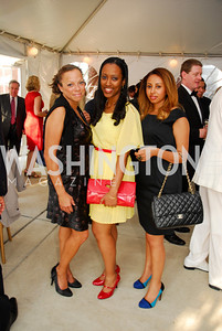 "Jacki Downs,Helina Zewdu,Selamawit Solomon,June 20,2012,""A Night of Broadway Stars"" Honoring Ted Leonsis Benefitting Covenant House,Kyle Samperton"