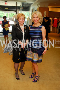Judy Schilling, Mary Ourisman,  A Presentation of Fall 2012 Oscar de la Renta Benefiting Global Health Corps at Saks Jandel, May 4, 2012, Kyle Samperton
