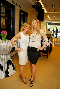 Stacey Lubar, Amy Donnelly, A Presentation of Fall 2012 Oscar de la Renta Benefiting Global Health Corps at Saks Jandel, May 4, 2012, Kyle Samperton