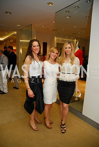 Meredith Cymerman, Stacey Lubar, Amy Donnelly,  A Presentation of Fall 2012 Oscar de la Renta Benefiting Global Health Corps at Saks Jandel, May 4, 2012, Kyle Samperton
