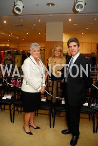 Cherie Doggett, Rose Cohen, Peter Marx, A Presentation of Fall 2012 Oscar de la Renta Benefitting Global Health Corps at Saks Jandel, May 4, 2012, Kyle Samperton