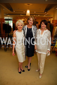 Carol Lascaris, Julie Connors, Marlene Malek, A Presentation of Fall 2012 Oscar de la Renta Benefiting Global Health Corps at Saks Jandel, May 4, 2012, Kyle Samperton