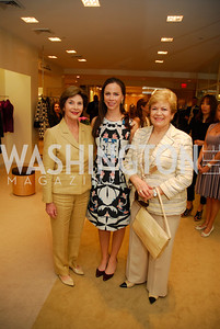 Laura Bush, Barbara Bush, Ximena Sanchez deLozada, A Presentation of Fall 2012 Oscar de la Renta Benefiting Global Health Corps at Saks Jandel, May 4, 2012, Kyle Samperton