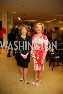 Anne Hand, Lorraine Wallace, A Presentation of Fall 2012 Oscar de la Renta Benefiting Global Health Corps at Saks Jandel, May 4, 2012, Kyle Samperton