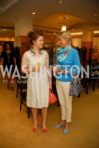 Jessica Speckhal, Eleanor Bierbower,  A Presentation of Fall 2012 Oscar de la Renta Benefiting Global Health Corps at Saks Jandel, May 4, 2012, Kyle Samperton