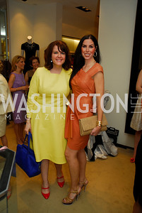 Rachael Pearson, Amy Baier, A Presentation of Fall 2012 Oscar de la Renta Benefiting Global Health Corps at Saks Jandel, May 4, 2012, Kyle Samperton