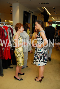 Meryl Chertoff, Barbara Bush, A Presentation of Fall 2012 Oscar de la Renta Benefiting Global Health Corps at Saks Jandel, May 4, 2012, Kyle Samperton