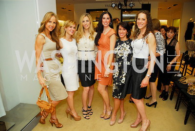 Jocelyn Greenan, Stacey Lubar, Amy donnelly, Kim Klein, Meredith Cymerman, A Presentation of Fall 2012 Oscar de la Renta Benefiting Global Health Corps at Saks Jandel, May 4, 2012, Kyle Samperton