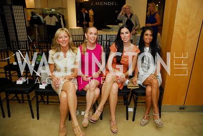 Jean-Marie Fernandez, Cindy Jones, Amy Baier, Abeer Al-Otaiba, A Presentation of Fall 2012 Oscar de la Renta Benefiting Global Health Corps at Saks Jandel, May 4, 2012, Kyle Samperton