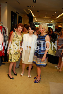 Meryl Chertoff, JoAnn Mason, Mary Ourisman, A Presentation of Fall 2012 Oscar de la Renta Benefiting Global Health Corps at Saks Jandel, May 4, 2012, Kyle Samperton