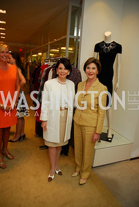 JoAnn Mason, Laura Bush, A Presentation of Fall 2012 Oscar de la Renta Benefiting Global Health Corps at Saks Jandel, May 4, 2012, Kyle Samperton