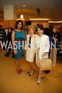 Moshira Soliman, Ira Ginsburg, JoAnn Mason, A Presentation of Fall 2012 Oscar de la Renta Benefiting Global Health Corps at Saks Jandel, May 4, 2012, Kyle Samperton