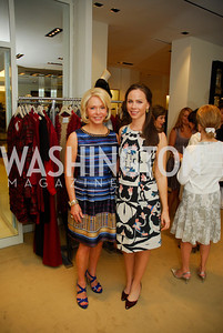 Mary Ourisman, Barbara Bush, A Presentation of Fall 2012 Oscar de la Renta Benefiting Global Health Corps at Saks Jandel, May 4, 2012, Kyle Samperton