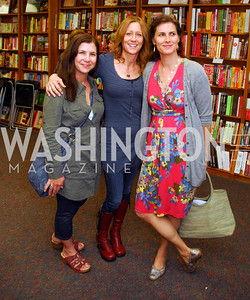 Alisa Lebowtz,Liza Himmelman,Claire Shipman,May 8,2012,A Reading of ''Yours in Truth'' by Jeff Himmelman at Politics and Prose,Kyle Samperton