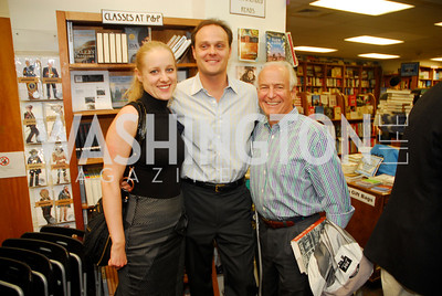 Clara Brillembourg,George Chopivsky.Robert Craft,May 8,2012,A Reading of ''Yours in Truth'' by Jeff Himmelman at Politics and Prose,Kyle Samperton
