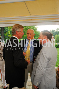 Amb.Jonas Hofstrom,Phiip Day.Charles Potter,June 112.2012,Reception for Arts for the Aging at The Residence of The Swedish Ambassador,Kyle Samperton