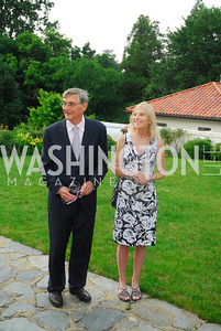Lee Pickard,Cynthia McClintock,June 12,2012,Reception for Arts for the Aging at the Residence of The Sweedish Ambassador,Kyle Samperton