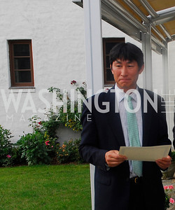 Chi Wan Kim,,June 12,2012,Reception for Arts for the Aging at the Residence of The Sweedish Ambassador,Kyle Samperton