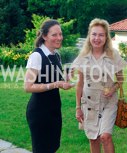 Stacey Gottfried,Monika Petter,June 12,2012,Reception for Arts for the Aging at the Residence of The Swedish Ambassador,Kyle Samperton