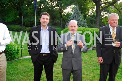 Babar Ahmed,Rob Arner,Alan Hermesch ,,June 12,2012,Reception for Arts for the Aging at the Residence of The Swedish Ambassador,Kyle Samperton