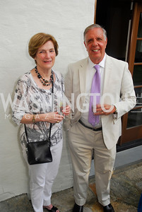 Carey Rivers,Bob Beizer,June 12,2012,Reception for Arts for the Aging at the Residence of The Swedish Ambassador,Kyle Samperton