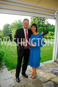 Amb.Jonas Hofstrom,Janine Tursini,June 12,2012,Reception for Arts for the Aging at the Residence of The Swedish Ambassador,Kyle Samperton