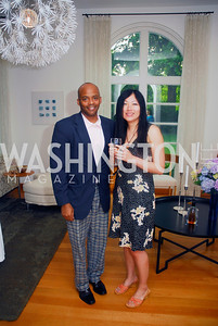 Darrell Rico Doss ,Grace Guo,June 12,2012,Reception for Arts for the Aging at the Residence of The Swedish Ambassador,Kyle Samperton