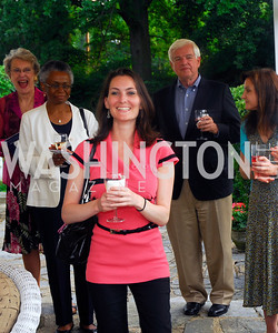 Rebecca Bloom,,June 12,2012,Reception for Arts for the Aging at the Residence of The Swedish Ambassador,Kyle Samperton
