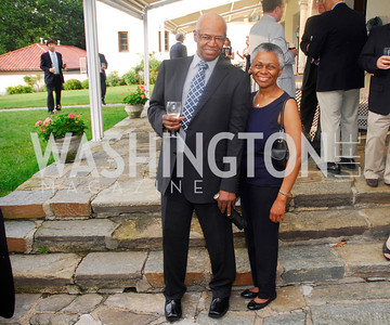 Leonard Tomilson,Marie Bernard,,June 12,2012,Reception for Arts for the Aging at the Residence of The Swedish Ambassador,Kyle Samperton