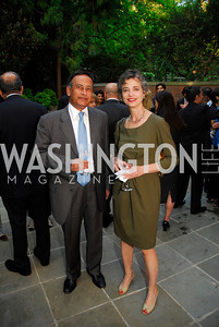 Husain Haqqani,Barbara Slavin ,A Reception for Vali Nasr,April 19,2012,Kyle Samperton