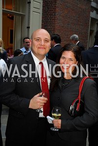 ChrisLavine,Patti Hanley,A Reception for Vali Nasr,April 19,2012,Kyle Samperton