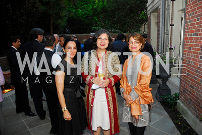 Maryam Nasr Sardari,Mehrnaz Teymourian,Seema Nawaz,A Reception for Vali Nasr,April 19,2012,Kyle Samperton