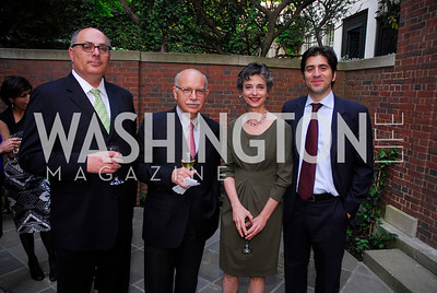 Adnan Mazarei,Roberto Toscano,Barbara Slavin,Ashfin Molavi,A Reception for Vali Nasr,April 19,2012,Kyle Samperton